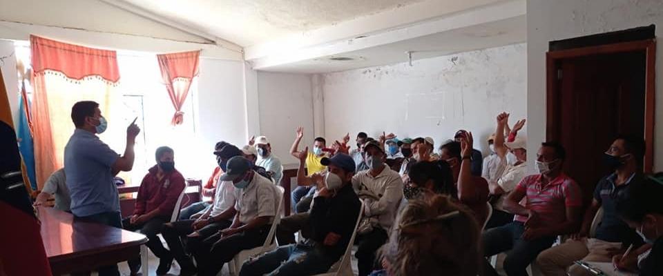 PROYECTO DE DOTACION DE SEMILLA DE MAIZ E INSUMOS A LOS AGRICULTORES DE LA PARROQUIA